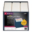 Smead SMD70211 12-Pocket Stadium File, 12 1/4 X 13 5/8, Navy, Letter