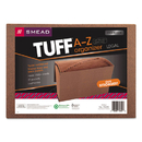 SMEAD MANUFACTURING CO. SMD70320 Heavy-Duty A-Z Expanding File, 21 Pocket, Legal, Redrope Printed