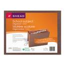 SMEAD MANUFACTURING CO. SMD70540 Expanding File, 6 Pockets, 1/5 Tab, Redrope Printed, Letter, Redrope Printed