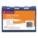 Smead SMD70902 Step Index Organizer, 12-Pocket, Letter, Poly, Navy