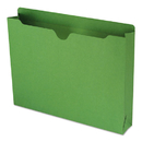 SMEAD MANUFACTURING CO. SMD75563 Colored File Jackets W/reinforced 2-Ply Tab, Letter, 11pt, Green, 50/box