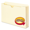 SMEAD MANUFACTURING CO. SMD76470 Manila File Jackets, Legal, 11 Point, Manila, 50/box