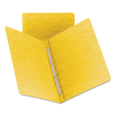 Smead SMD81852 Side Opening Pressguard Report Cover, Prong Fastener, Letter, Yellow