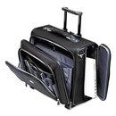 SAMSONITE CORP/LUGGAGE DIV SML110201041 Side Loader Office Rolling Laptop Case, Nylon, 17 1/2 X 7 1/2 X 15, Black