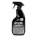 simple green SMP18300CT Stainless Steel One-Step Cleaner & Polish, 32oz Spray Bottle