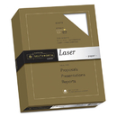 SOUTHWORTH COMPANY SOU3172410 25% Cotton Laser Paper, 24lb, 95 Bright, Smooth Finish, 8 1/2 X 11, 500 Sheets