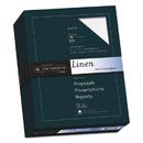SOUTHWORTH COMPANY SOU554C 25% Cotton Linen Business Paper, 24lb, 91 Bright, 8 1/2 X 11, 500 Sheets