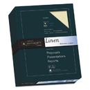SOUTHWORTH COMPANY SOU564C 25% Cotton Linen Business Paper, Ivory, 24lb, 8 1/2 X 11, 500 Sheets