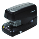 ACCO BRANDS SWI69270 High-Capacity Flat Clinch Electric Stapler With Jam Release, 70-Sheet Cap, Black