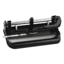 ACCO BRANDS SWI74350 32-Sheet Lever Handle Two-To-Seven-Hole Punch, 9/32