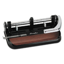ACCO BRANDS SWI74400 40-Sheet Heavy-Duty Lever Action 2-To-7-Hole Punch, 11/32