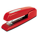ACCO BRANDS SWI74736 747 Business Full Strip Desk Stapler, 25-Sheet Capacity, Rio Red