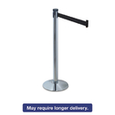 TATCO TCO11500 Adjusta-Tape Crowd Control Stanchion Posts, Nylon, 40