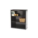 TENNSCO TNNB42BK Metal Bookcase, Three-Shelf, 34-1/2w X 13-1/2d X 40h, Black