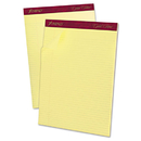 Ampad TOP20022 Gold Fibre Pads, 8 1/2 X 11 3/4, Canary, 50 Sheets, Dozen