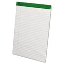 Ampad TOP20172 Earthwise Recycled Writing Pad, 8 1/2 X 11 3/4, White, Dozen