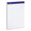Ampad TOP20210 Quadrille Double Sheets Pad, 8 1/2 X 11 3/4, White, 100 Sheets