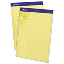 Ampad TOP20270 Recycled Writing Pads, 8 1/2 X 11 3/4, Canary, 50 Sheets, Dozen