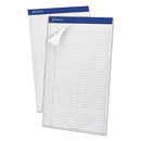 Ampad TOP20330 Perforated Writing Pad, 8 1/2 X 14, White, 50 Sheets, Dozen