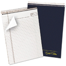 Ampad TOP20815 Gold Fibre Wirebound Writing Pad W/cover, 8 1/2 X 11 3/4, White, Navy Cover