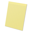 Ampad TOP21218 Glue Top Pads, 8 1/2 X 11, Canary, 50 Sheets, Dozen