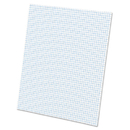 Ampad TOP22002 Quadrille Pads, 5 Squares/inch, 8 1/2 X 11, White, 50 Sheets