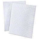 Ampad TOP22030C Quadrille Pads, 4 Squares/inch, 8 1/2 X 11, White, 50 Sheets