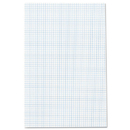 Ampad TOP22037 Quadrille Pads, 11 X 17, White, 50 Sheets