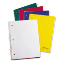 Oxford Earthwise TOP25207 Earthwise 100% Recycled Single Subject Notebooks, 8 1/2 X 11, White, 100 Sheets