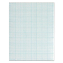 TOPS BUSINESS FORMS TOP35081 Cross Section Pads, 8 Squares, 8 1/2 X 11, White, 50 Sheets