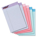 Tops TOP63016 Prism Plus Colored Legal Pads, 5 X 8, Pastels, 50 Sheets, 6 Pads/pack
