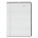TOPS BUSINESS FORMS TOP63978 Docket Diamond Top-Wire Planning Pad, Legal/wide, 8 1/2 X 11 3/4, White, 60 Sh