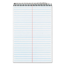 TOPS BUSINESS FORMS TOP74688 Second Nature Spiral Reporter/steno Book, Gregg, 6 X 9, White, 80 Sheets