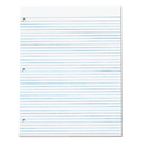 TOPS BUSINESS FORMS TOP7521 Three-Hole Punched Pad, Narrow Rule, 8 1/2 X 11, White, 50 Sheets/pack, Dz.