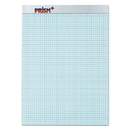 Tops TOP76581 Prism Quadrille Perforated Pads, 8 1/2 X 11 3/4, Blue, 50 Sheets, Dozen