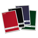 Tops TOP80220 Steno Book W/assorted Colored Covers, 6 X 9, White, 80 Sheets, 4 Pads/pack