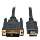 Tripp Lite TRPP566006 P566-006 6ft Hdmi To Dvi Gold Digital Video Cable Hdmi-M / Dvi-M, 6'