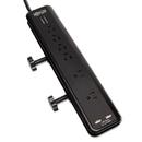 Tripp Lite TRPTLP606DMUSB Protect It- Surge Suppressor, 6 Outlets, 6 Ft Cord, 2100 Joules, Black