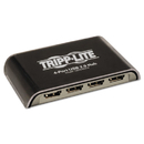 Tripp Lite TRPU225004R 4-Port Usb Mini Hub, Black/silver