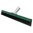 Unger UNGFP75 Aquadozer Heavy Duty Floor Squeegee, 30 Inch Blade, Green/black Rubber, Straight