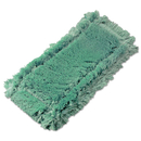 Unger PHW20 Microfiber Washing Pad, Green, 6 x 8