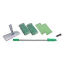 Unger WNK01 Indoor Window Cleaning Kit, Aluminum, 72