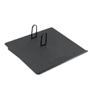 UNIVERSAL OFFICE PRODUCTS UNV08124 Recycled Plastic #17 Calendar Holder, 3-1/2 X 6-1/2, Black