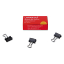UNIVERSAL OFFICE PRODUCTS UNV10199 Mini Binder Clips, Steel Wire, 1/4