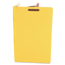 UNIVERSAL PRODUCTS UNV10214 Pressboard Classification Folders, Legal, Four-Section, Yellow, 10/box