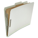 UNIVERSAL PRODUCTS UNV10262 Pressboard Classification Folder, Legal, Four-Section, Gray, 10/box