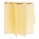 UNIVERSAL PRODUCTS UNV10300 Manila Classification Folders, Letter, Six-Section, 15/box