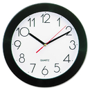 UNIVERSAL PRODUCTS UNV10421 Round Wall Clock, 9 3/4