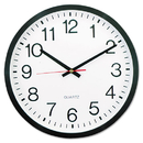 UNIVERSAL PRODUCTS UNV10431 Round Wall Clock, 12 5/8