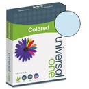 UNIVERSAL PRODUCTS UNV11202 Colored Paper, 20lb, 8-1/2 X 11, Blue, 500 Sheets/ream